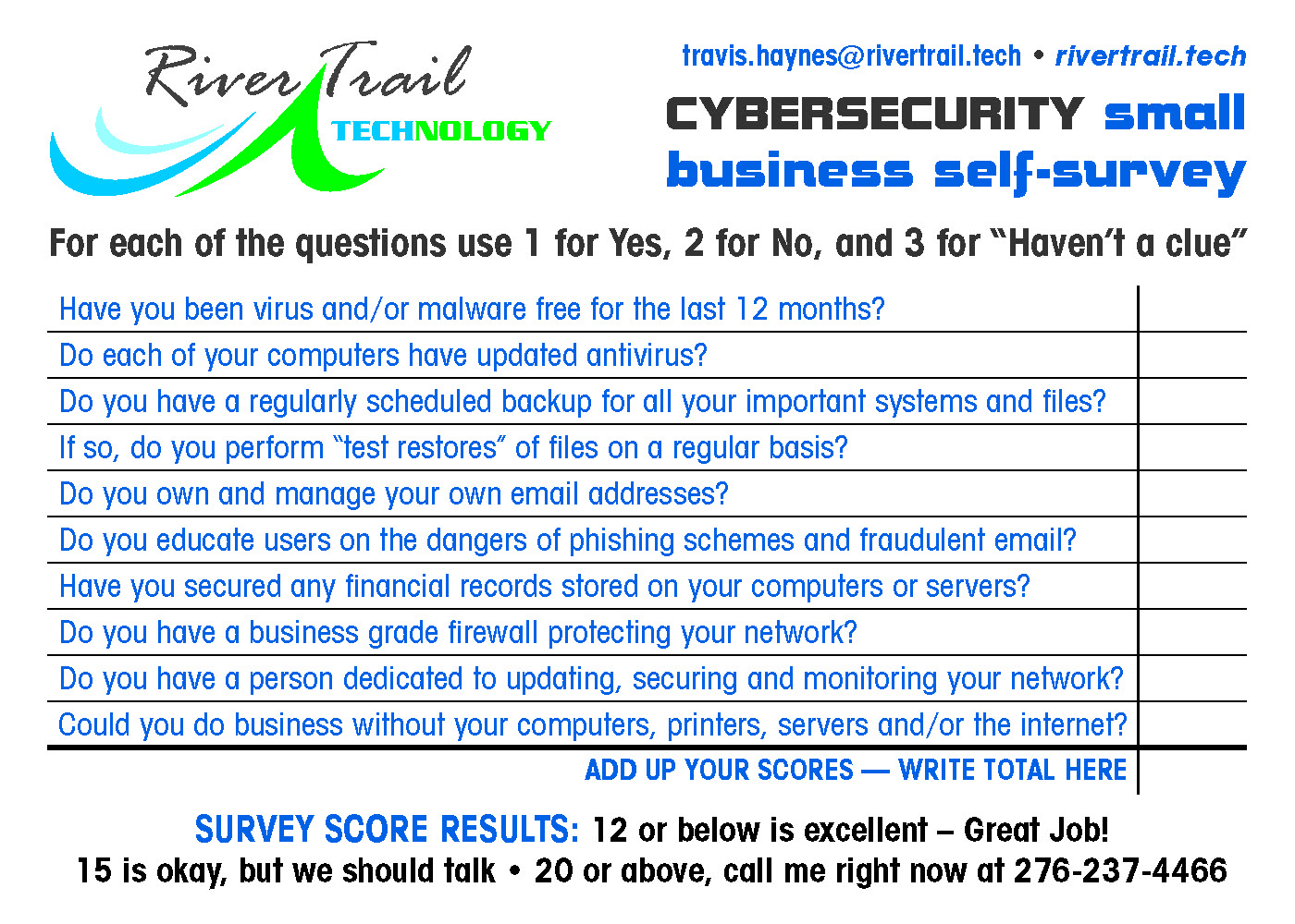 Cyber Security Form
