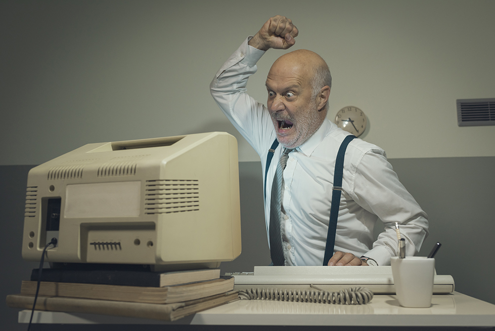 Technology Server Computer Disaster